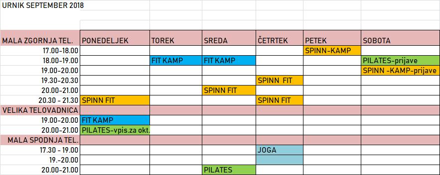URNIK-SEPT.17.9.2018
